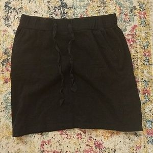 NWOT Loft cotton skirt with drawstring